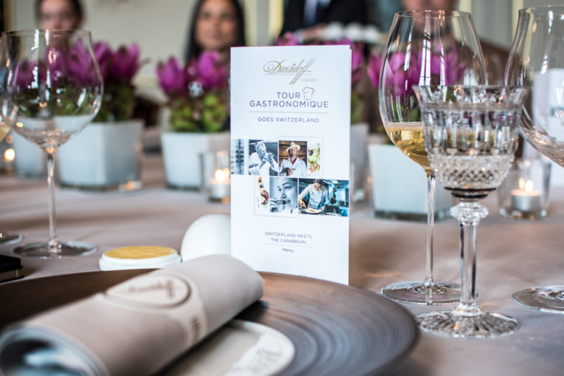 Davidoff Tour Gastronomique with Peter Knogl & Maria Marte