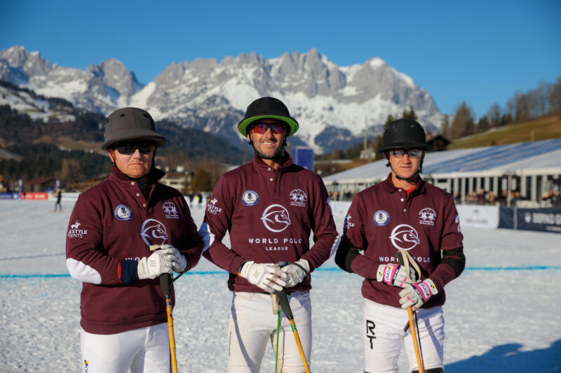 Pictures of the 18. Bendura Bank Snow Polo World Cup at Reith bei Kitzbühel 2020 by Reinhardt & Sommer for Lifestyle Events