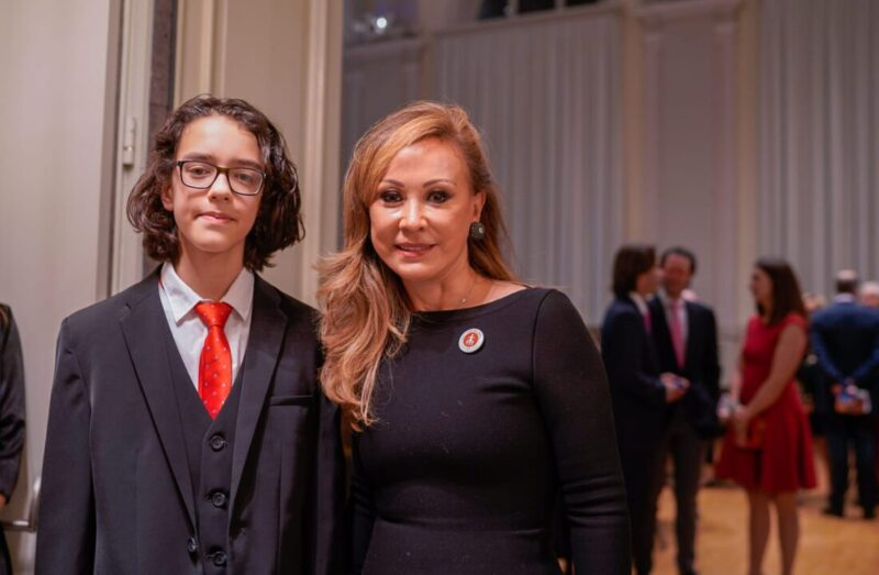 Hilda Burger Calderón & Nicolas Comi