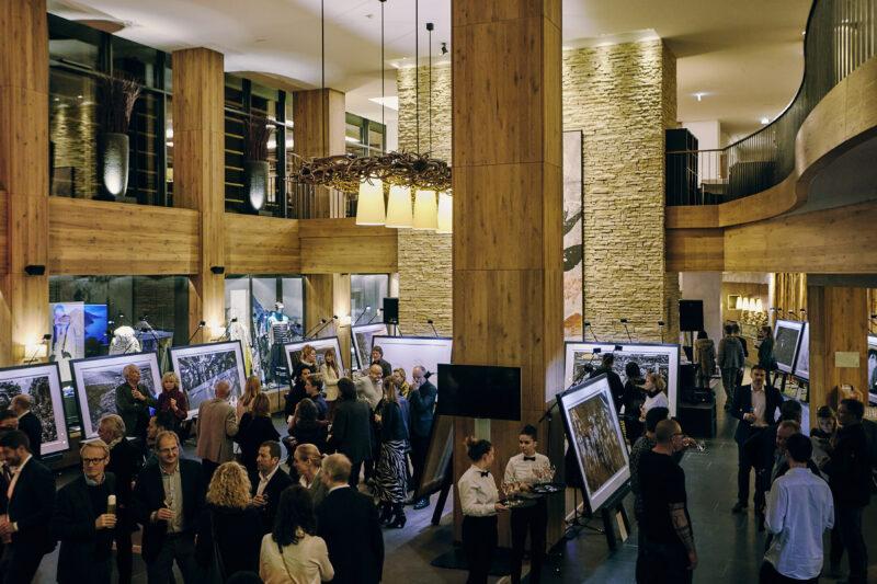 David Yarrow's book launch party in Kitzbühel