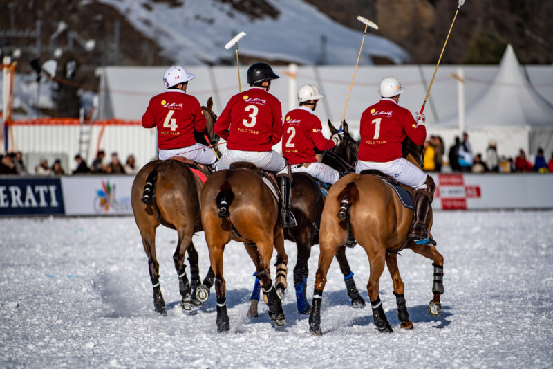 Day 4 Snow Polo World Cup St.Moritz 2020 copyrights: fotoSwiss.com/giancarlo cattaneo