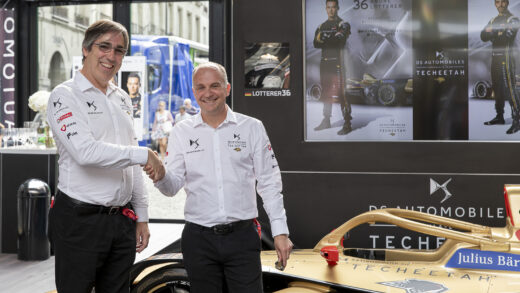 Ds Automobiles Techeetah. Mark Preston & Xavier Mestelan