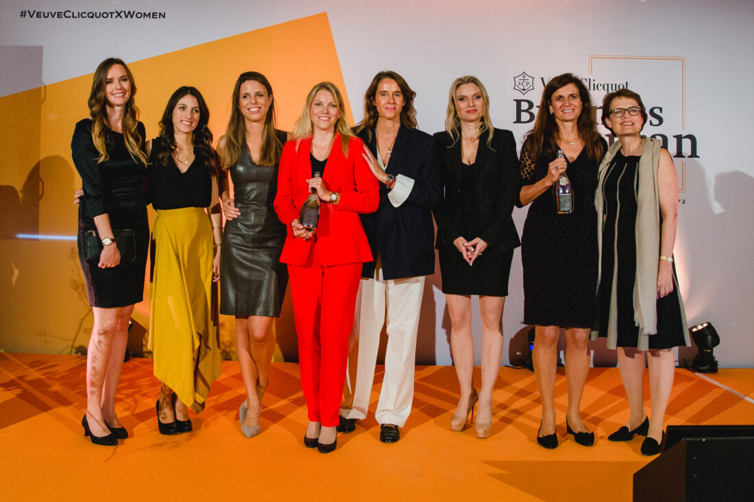 BWA_Finalistinnen mit Carole Bildé
