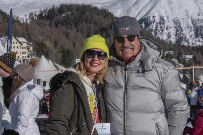 Reto Gaudenzi Snow Polo St.Moritz by Jeannette Johannsen