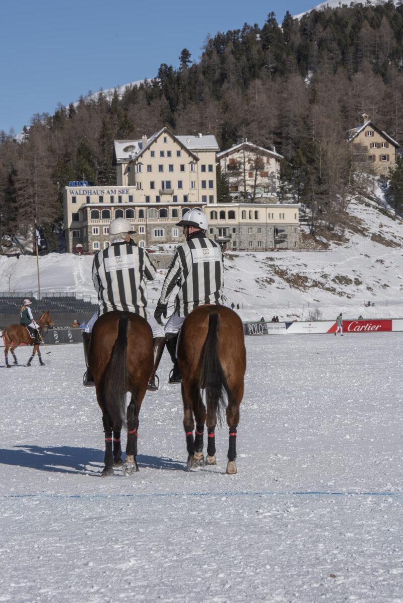 Umpires Snow Polo St.Moritz 2019 by Jeannette Johannsen