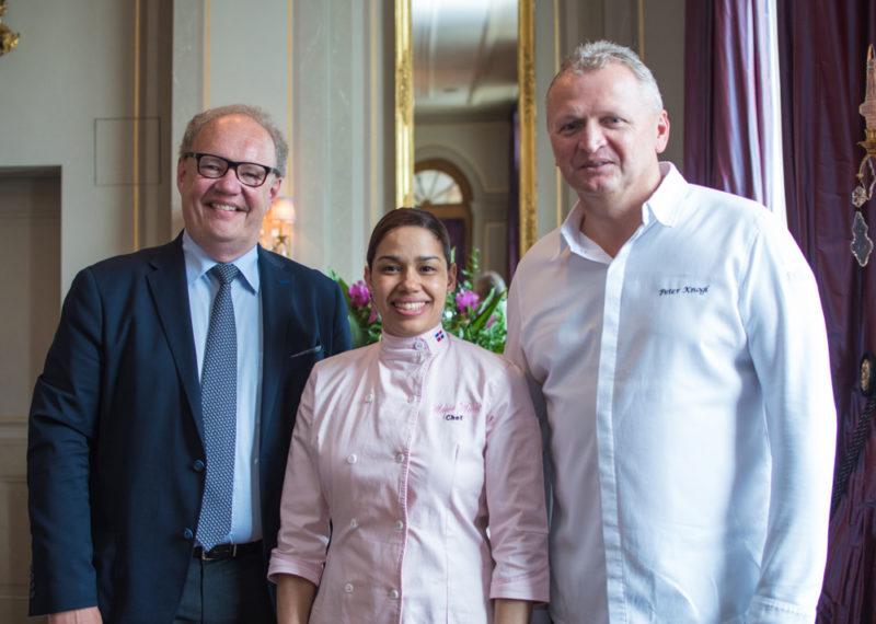 Davidoff CEO,Maria Marte,Peter Knogl