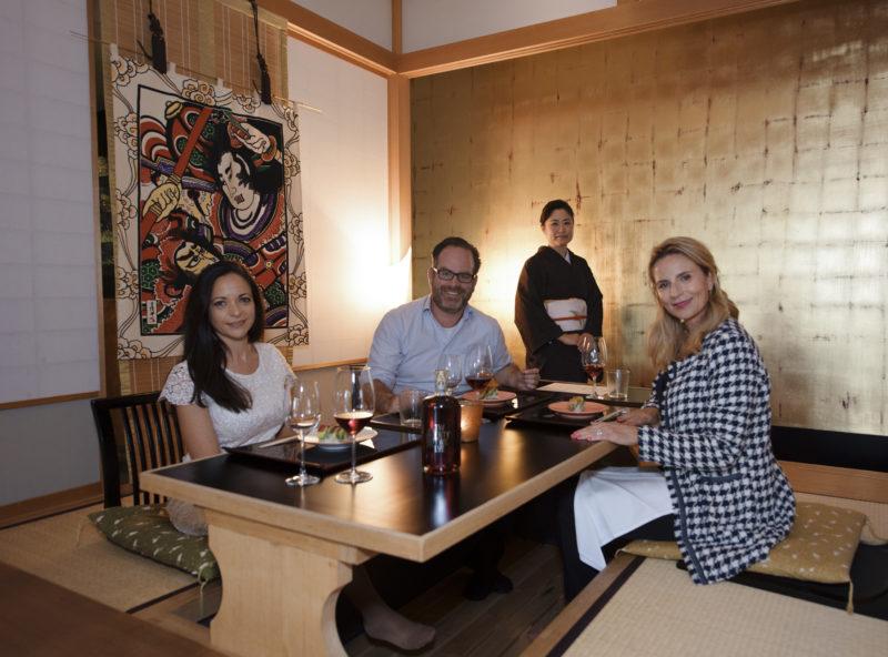 Food expert Stephan Lendi and Sommelier Oria Palmer