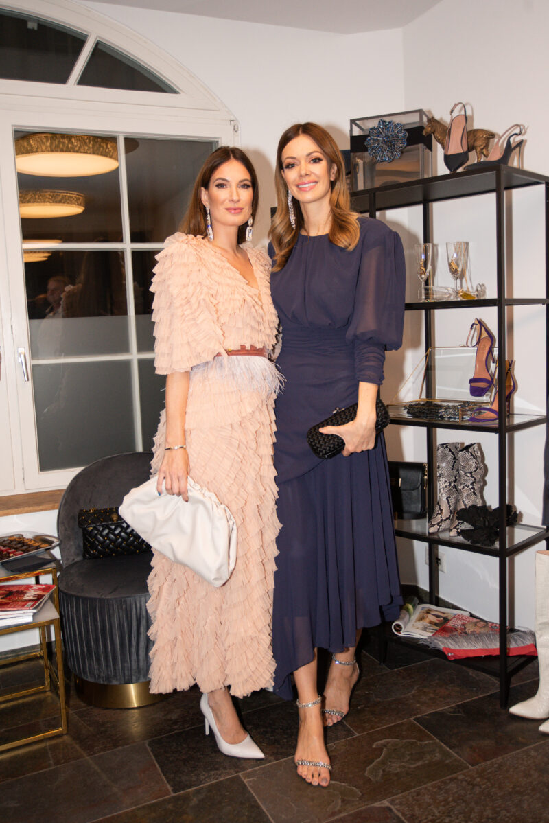 German fashion and lifestyle entrepreneur Lena Terlutter, Aleksandra Dojcinovic