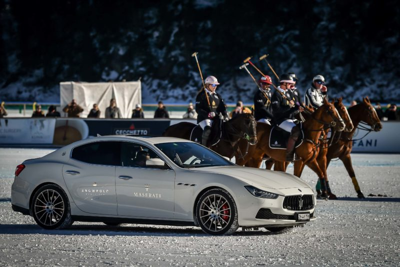 Maserati Polo Tour 2017 - Snow Polo St Moritz - Ghibli & the Maserati Polo Team