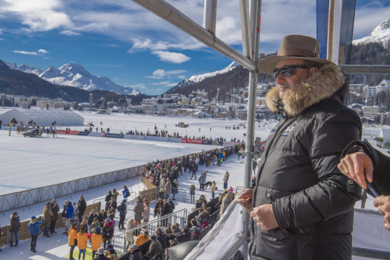 Day 3 at Snow Polo World Cup St. Moritz 2018 on the frozen lake. copyrights: fotoswiss.com/giancarlo cattaneo