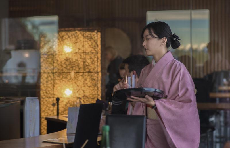 Ryokan staff