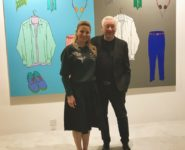 UBS Global Art brunc with Conceptul Artist Michael Craig Martin
