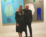 UBS Global Art brunc with Conceptul Artist Michael Craig Martin