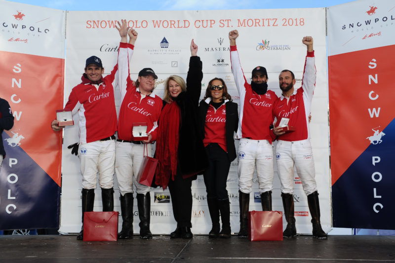 34th Snow Polo World Cup St.Moritz 2018